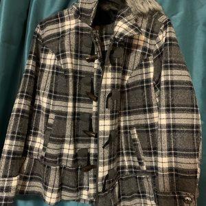Torrid Plaid Plus Size Jacket